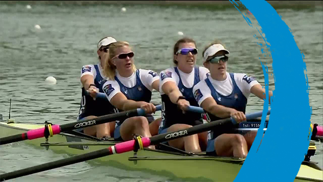 2019 World Rowing Cup 1 – Plovdiv (BUL) – Women's Four (W4-) – Final A