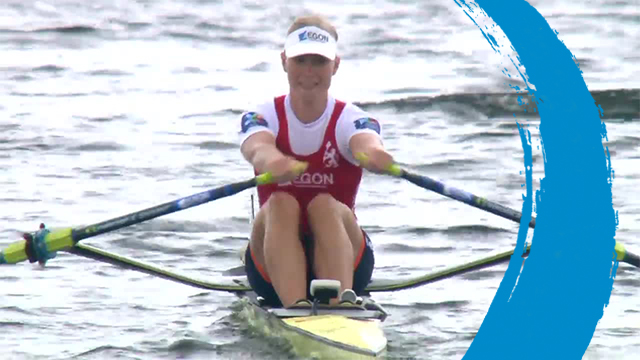 2019 World Rowing Cup 3 – Rotterdam, Netherlands – Women's Single Sculls (W1x) – Final A