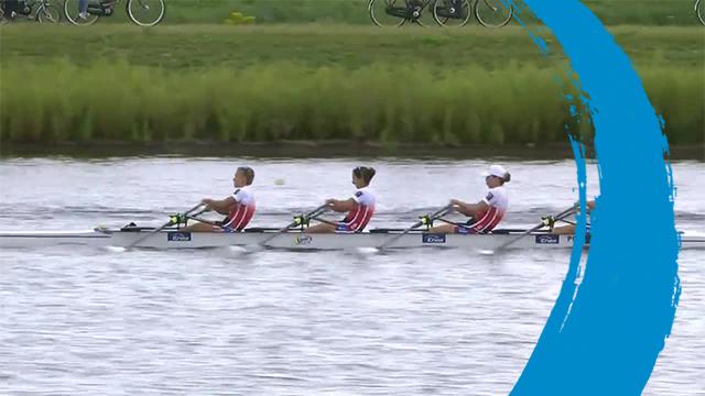 2019 World Rowing Cup 3 – Rotterdam, Netherlands – Women's Quadruple Sculls (W4x) – Final A