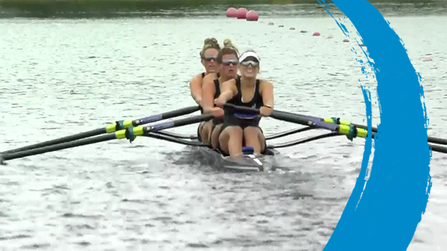 2019 World Rowing Cup 3 – Rotterdam, Netherlands – Women's Four (W4-) – Repechage 1