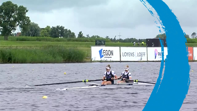 2019 World Rowing Cup 3 – Rotterdam, Netherlands – Women's Pair (W2-) – Final A