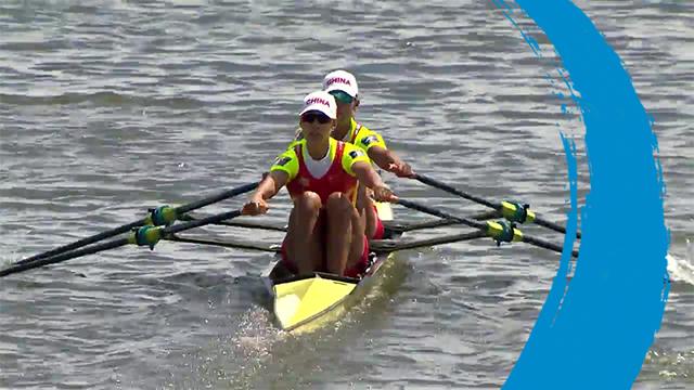 2019 World Rowing Cup II – Poznan, POL – Women's Double Sculls (W2x) – Final