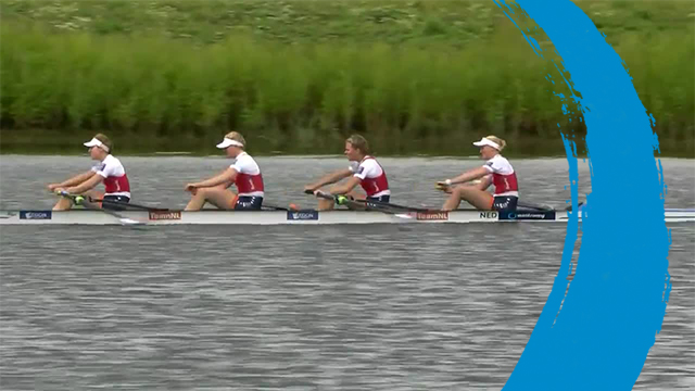 2019 World Rowing Cup 3 – Rotterdam, Netherlands – Women's Four (W4-) – Repechage 2