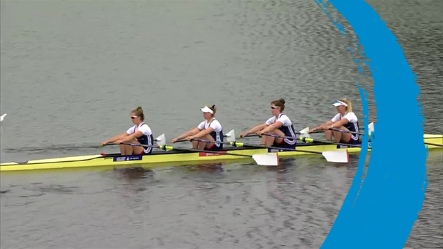 2019 World Rowing Cup 3 – Rotterdam, Netherlands – Women's Quadruple Sculls (W4x) – Repechage