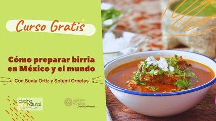 Curso GRATIS Birria de México para el mundo