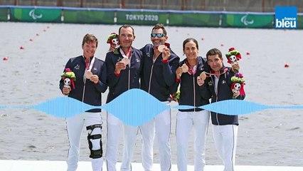 Erika Sauzeau, médaillée de bronze aux Jeux paralympiques de Tokyo !