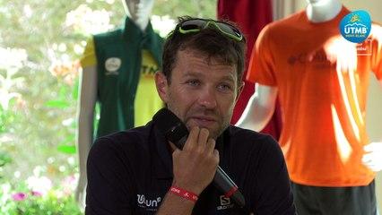UTMB® 2021 Interview (EN) - François D'HAENE