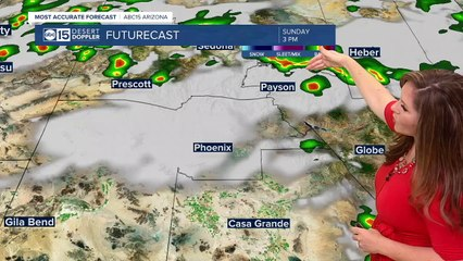MOST ACCURATE FORECAST - Hot end to the weekend ahead of Monsoon storms