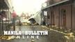 Hurricane Ida damages New Orleans' French Quarter