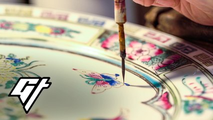 The last Hong Kong Artists Turning Plain Porcelain Into Masterpieces