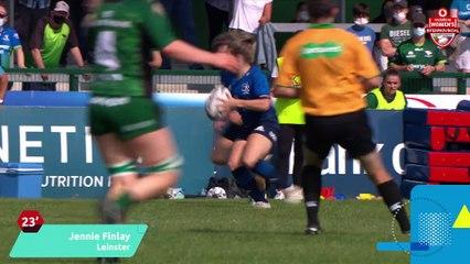 Connacht 12 Leinster 17: 2021 Vodafone Women's Interprovincial Championship Round 1 Highlights
