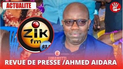 Audio – La revue de presse d'Ahmed Aidara du lundi 30 Aout 2021