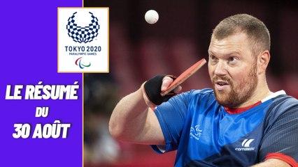 Jeux Paralympiques 2021 : Le résumé du 30 août
