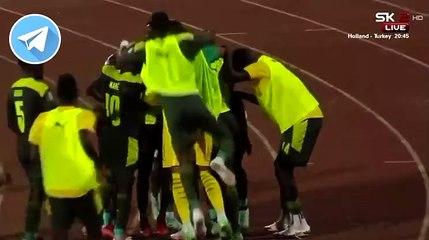 Ismaila Sarr marque le deuxième but des Lions