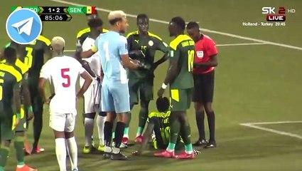 Sadio Mané marque sur penalty