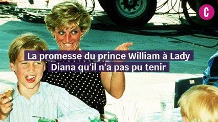 La promesse du prince William à Lady Di
