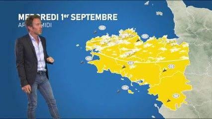 Bulletin météo pour le mercredi 1er septembre