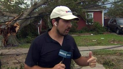 Hurricane Ida takes down trees, power lines in Kenner, Louisiana