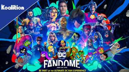 Everything Coming To DC FanDome 2021!
