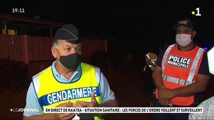 Raiatea - L'hôpital et les forces de l'ordre en alerte