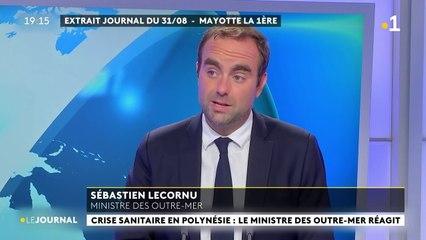 """Sébastien Lecornu : """"la Polynésie française, c'est une épidémie de non-vaccinés"""""""