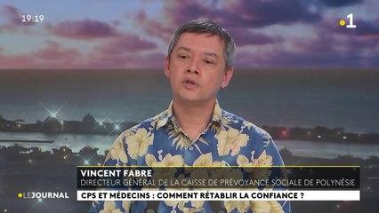 Invité du journal : Vincent Fabre, directeur générale de la caisse de prévoyance social de Polynesie