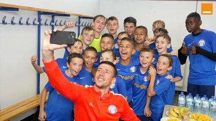 Orange Football Amateur   C. Lenglet rencontre les jeunes du C.S Chaumontois   Team Orange Football