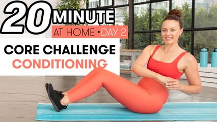 20-Minute Core Conditioning Workout - Challenge Day 2