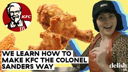 How KFC Make Their Fried Chicken In Stores   Delish UK