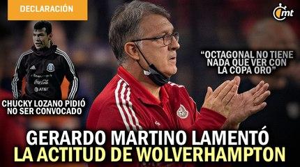 Tata Martino lamentó la actitud de Wolverhampton para no prestar a Raúl Jiménez