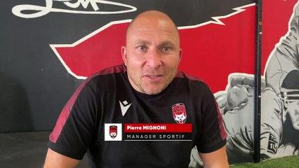 #ASMLOU Le message de Pierre Mignoni aux supporters