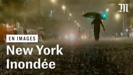 Ouragan Ida : les images de New York inondée