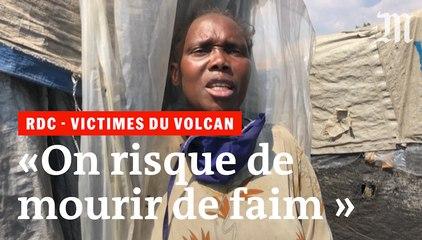 RDC : les déplacés du Nyiragongo appellent à l'aide