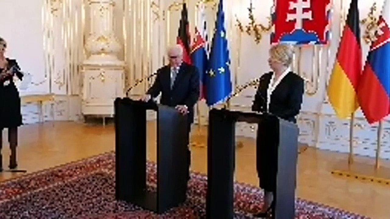 ZÁZNAM: Prezidentka Z.Čaputová rokovala vo štvrtok s nemeckým prezidentom Frankom-Walterom Steinmeierom