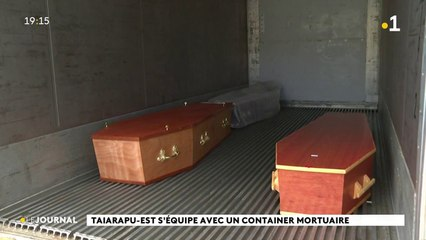 Taiarapu-est s'équipe avec un container mortuaire
