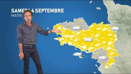 Bulletin météo pour le samedi 4 septembre