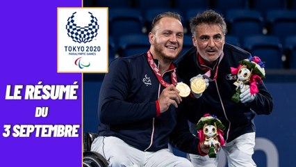 Jeux Paralympiques 2021 : Le résumé du 3 septembre