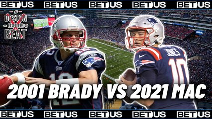 2001 Tom Brady vs 2021 Mac Jones