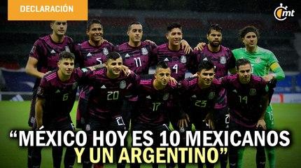 México hoy es 10 mexicanos y un argentino: presidente de la Federación de Panamá