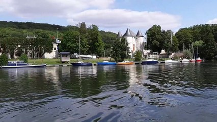 Naviguer en père peinard... sur la Seine à Vernon