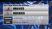 Braves @ Rockies Game Preview for SEP 04 -  8:10 PM ET