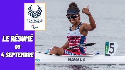 Jeux Paralympiques : Le résumé de la journée du 04 septembre