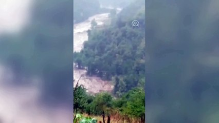 Bozkurt'ta selin geliş anına dair yeni görüntüler ortaya çıktı