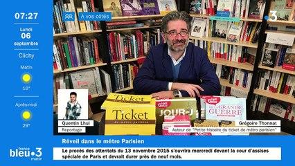 06/09/2021 - La matinale de France Bleu Paris