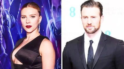 Scarlett And Chris Share Screen Space In Upcoming Film Ghosted
