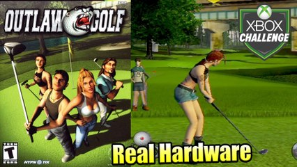 Outlaw Golf — Xbox OG Gameplay HD — Real Hardware {Component}