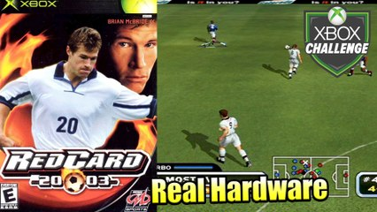 RedCard 2003 — Xbox OG Gameplay HD — Real Hardware {Component}