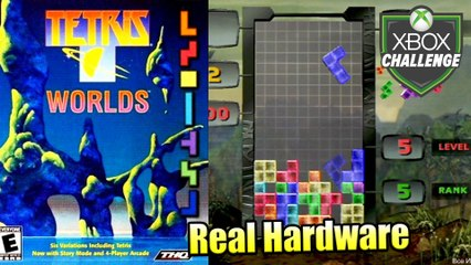 Tetris Worlds — Xbox OG Gameplay HD — Real Hardware {Component}
