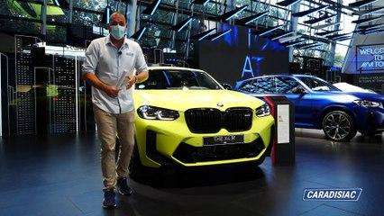 BMW X4 restylé : - En direct du Salon de Munich 2021