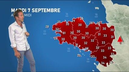 Illustration de l'actualité Bulletin météo pour le mardi 7 septembre
